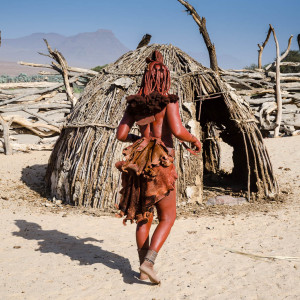 Himba Woman from Back