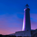 St Mary's Lighthouse at Twilight