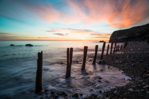 Sunrise at Chemical Beach Seaham