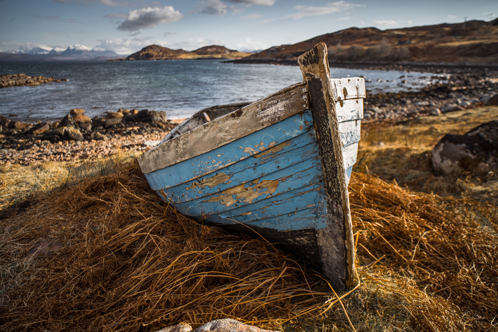 Photographic workshop in scottish highlands for What to do with an old boat