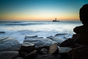 St Mary's Lighthouse at Dawn