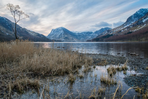 Frozen Lake - Buttermere