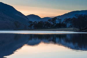 Sunset at Buttermere