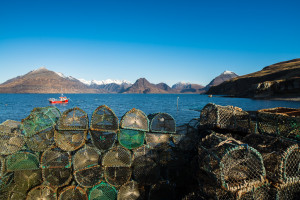 Lobster Pots on Elgol Pier