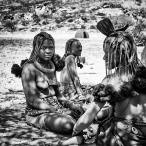 Himba Women in Namibia